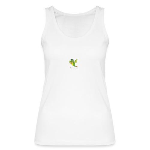 Cuidado que quemo - Camiseta de tirantes ecológica mujer de Stanley & Stella