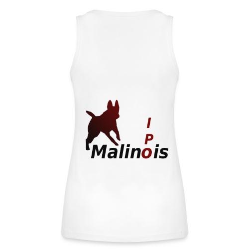 IPO Malinois Männer T-Shirt V Ausschnitt - Frauen Bio Tank Top von Stanley & Stella