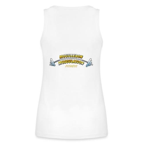 mouilleron muscu logo pour tee shirt 311 - Débardeur bio Femme