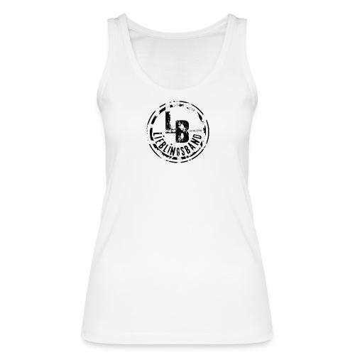 Logo freigestellt gross black png - Frauen Bio Tank Top von Stanley & Stella