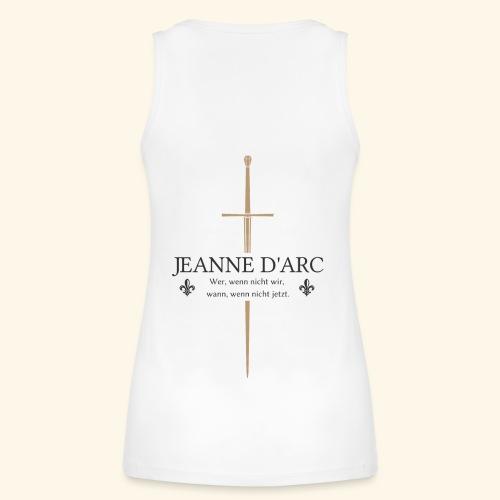 Jeanne d arc dark - Frauen Bio Tank Top von Stanley & Stella