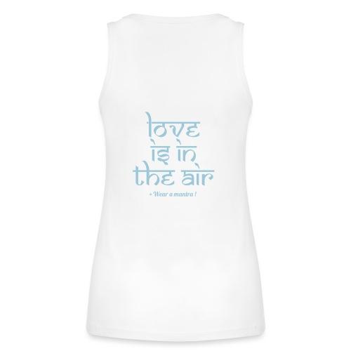 LOVE IS IN THE AIR - Top ecologico da donna di Stanley & Stella