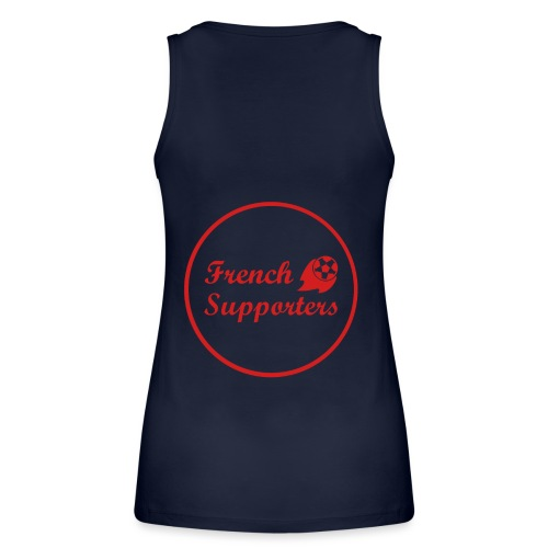French supporters tribe - Débardeur bio Femme