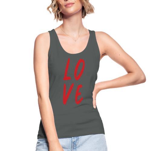 love - Top ecologico da donna di Stanley & Stella