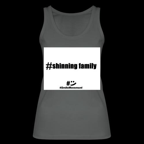 shinning family - Débardeur bio Femme