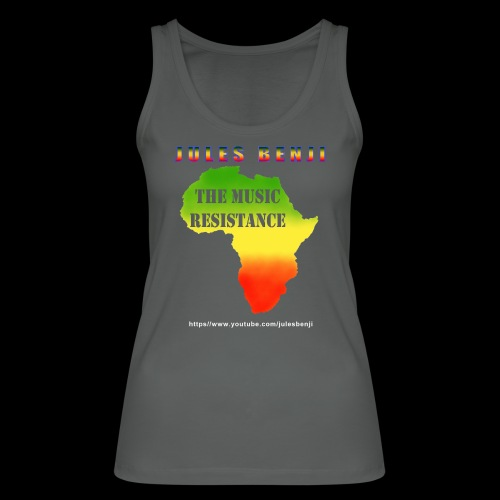 JULES BENJI & MUSIC RESISTANCE africa design - Women's Organic Tank Top by Stanley & Stella