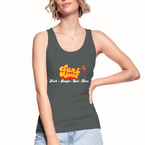 FunkDown Official Merchandise (med genrer) - Økologisk Stanley & Stella tanktop til damer