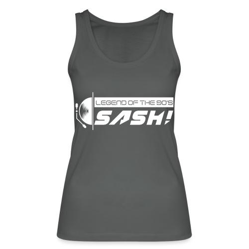 DJ SASH! Turntable Logo - Women's Organic Tank Top by Stanley & Stella
