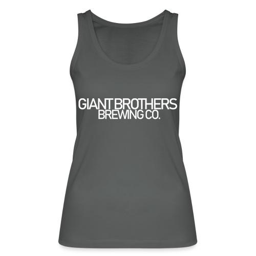 Giant Brothers Brewing co white - Ekologisk tanktopp dam från Stanley & Stella