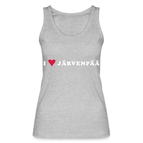 I LOVE JARVENPAA - Stanley & Stellan naisten luomutanktoppi