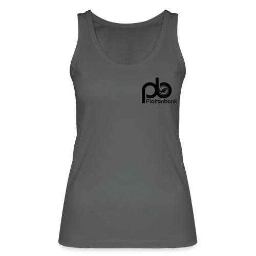 pb logo neg text - Women's Organic Tank Top by Stanley & Stella