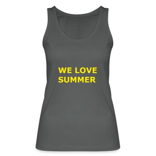 we love summer - Frauen Bio Tank Top von Stanley & Stella