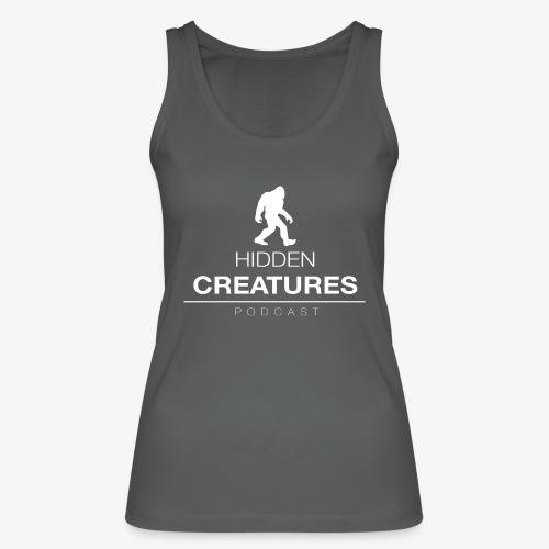 Hidden Creatures Logo White - Women's Organic Tank Top by Stanley & Stella