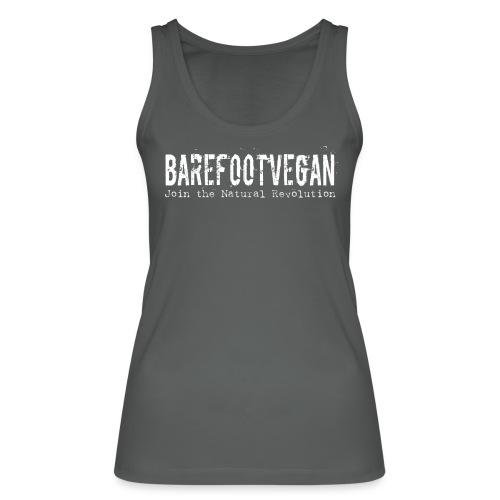 Barefoot Vegan white - Women's Organic Tank Top by Stanley & Stella