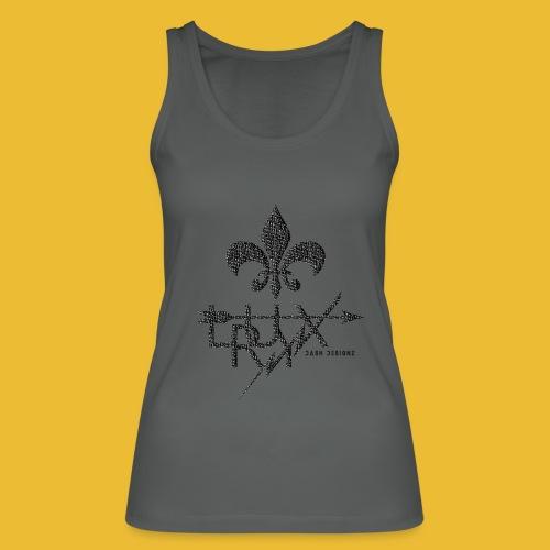 Luxry (Faded Black) - Women's Organic Tank Top by Stanley & Stella