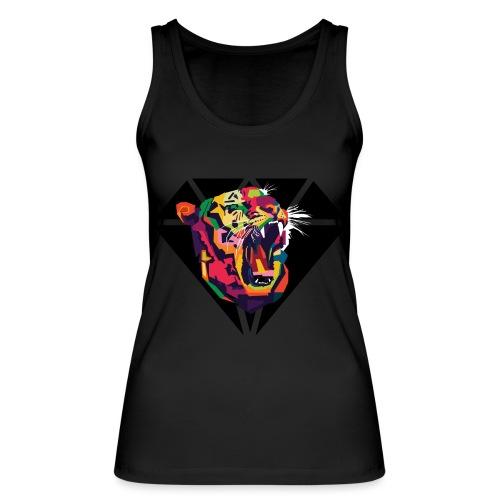 Tiger Hipster Design - Frauen Bio Tank Top von Stanley & Stella