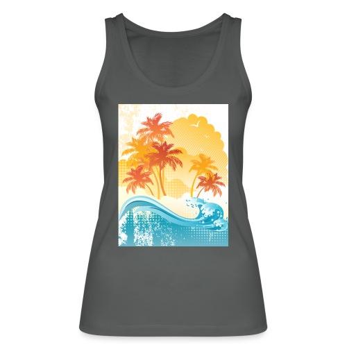 Palm Beach - Women's Organic Tank Top by Stanley & Stella