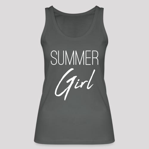 Summer Girl - Das Motiv für den Sommer - Frauen Bio Tank Top von Stanley & Stella
