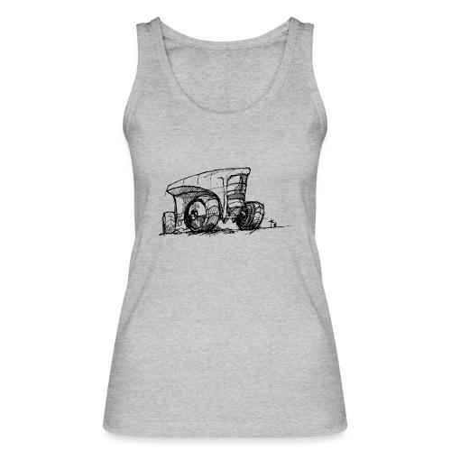 Futuristic design tractor - Women's Organic Tank Top by Stanley & Stella
