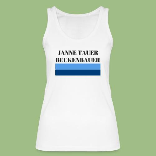 Janne Tauer BECKENBAUER - Ekologisk tanktopp dam från Stanley & Stella