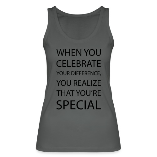 You're special - Økologisk Stanley & Stella tanktop til damer