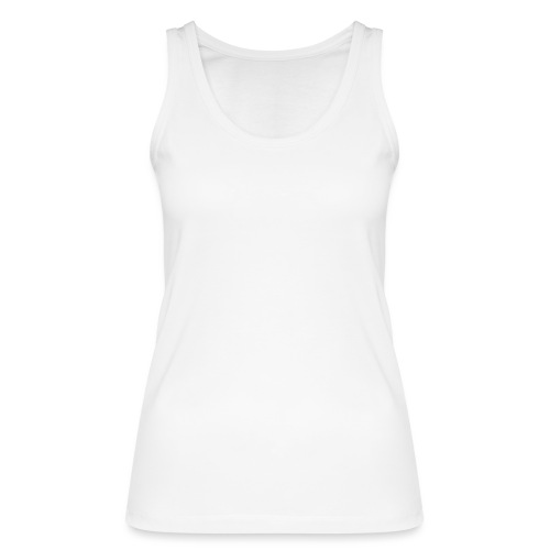white logo transparent 2x - Women's Organic Tank Top by Stanley & Stella