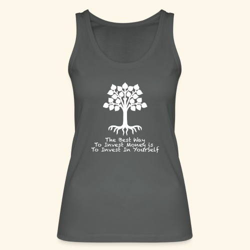 Printed T-Shirt Tree Best Way Invest Money - Top ecologico da donna di Stanley & Stella