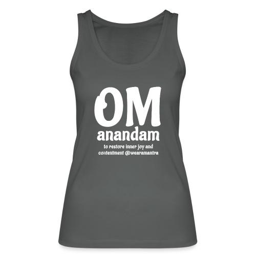 Om Anandam 2 white - Top ecologico da donna di Stanley & Stella