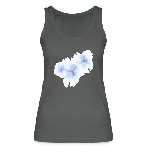 blue flowers - Ekologiczny top damski Stanley & Stella