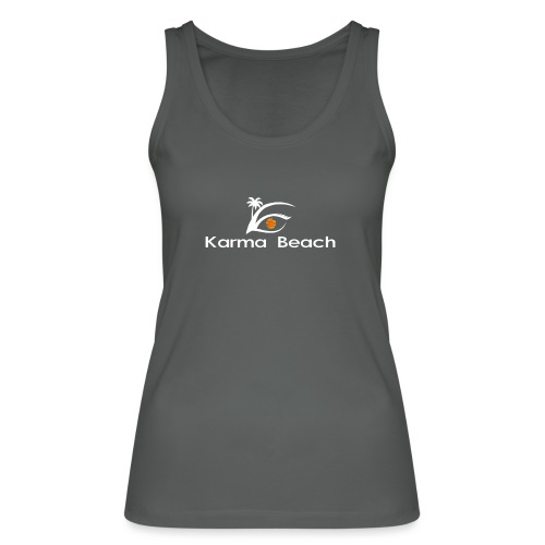 KaramaBeachLogoTs png - Camiseta de tirantes ecológica mujer de Stanley & Stella