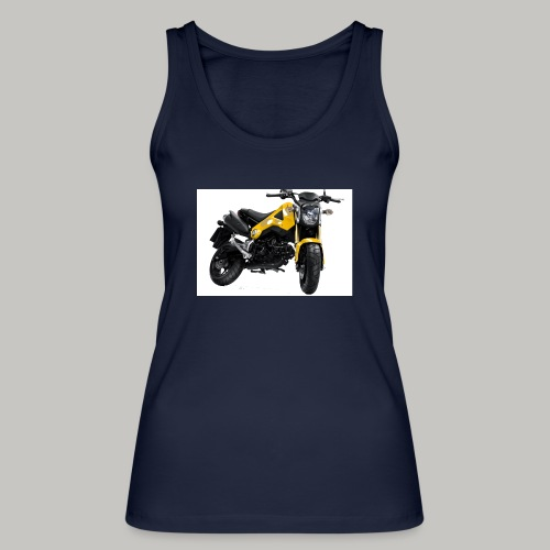 Grom Motorcycle (Monkey Bike) - Women's Organic Tank Top by Stanley & Stella