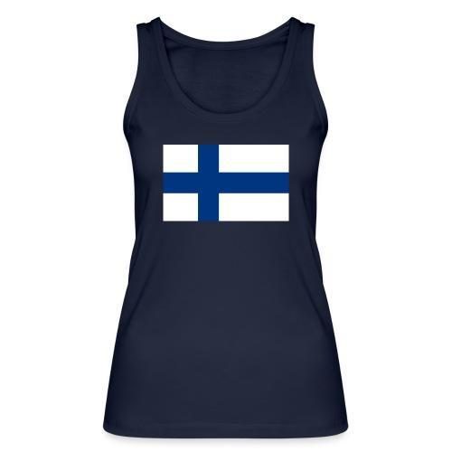 800pxflag of finlandsvg - Stanley & Stellan naisten luomutanktoppi