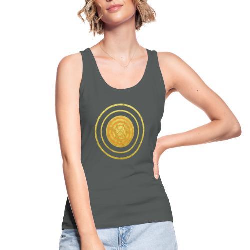 Glückssymbol Sonne - positive Schwingung - Spirale - Frauen Bio Tank Top von Stanley & Stella