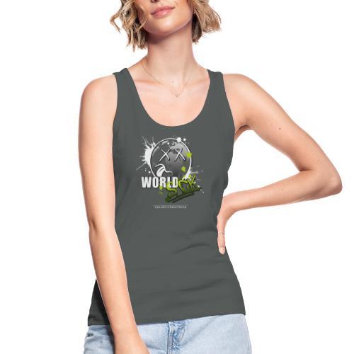 world sick - Frauen Bio Tank Top von Stanley & Stella
