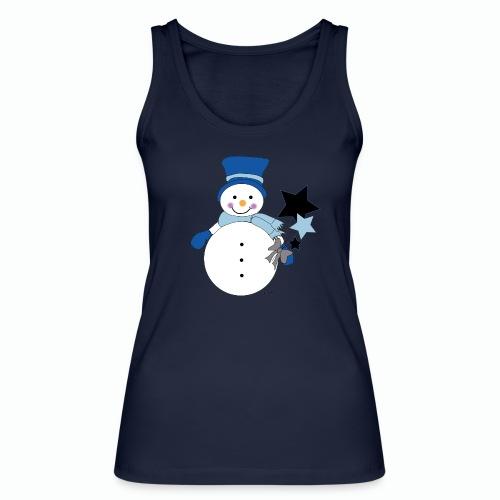 Snowtime-Blue - Frauen Bio Tank Top von Stanley & Stella