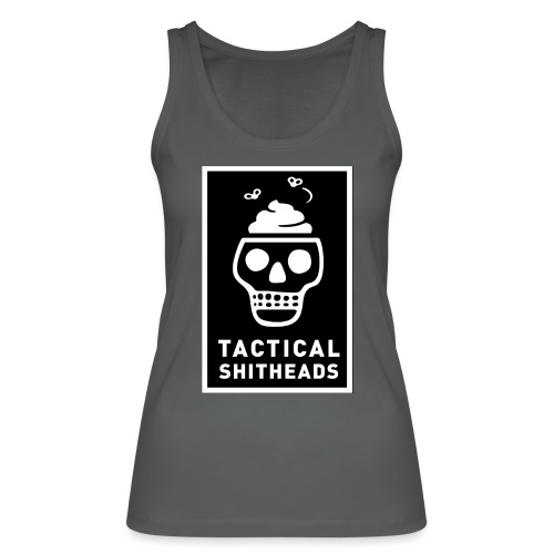 Tacshit Shitheadskull - Frauen Bio Tank Top von Stanley & Stella