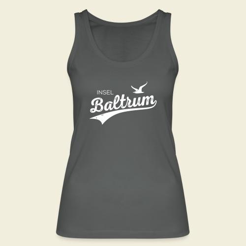 Baltrum-Logo Möwe - Frauen Bio Tank Top von Stanley & Stella