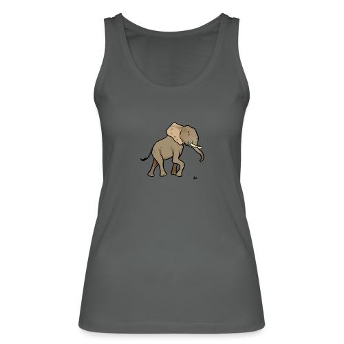 Éléphant d'Afrique - Débardeur bio Femme