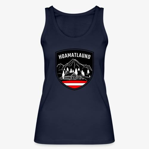 Hoamatlaund logo - Frauen Bio Tank Top von Stanley & Stella