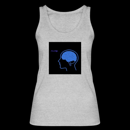 Knowledge - Women's Organic Tank Top by Stanley & Stella