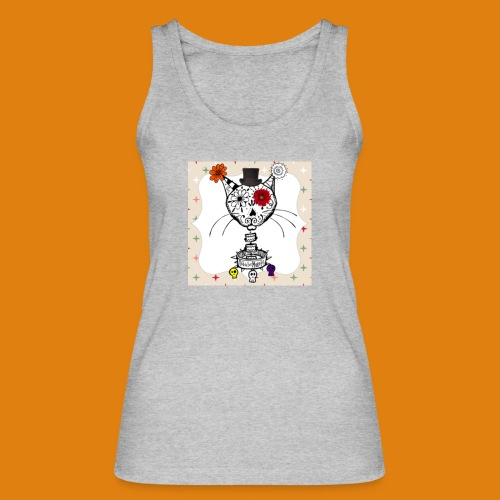 cat color - Women's Organic Tank Top by Stanley & Stella