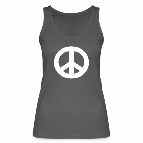 Peace - Women's Organic Tank Top by Stanley & Stella