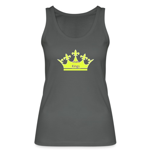 Team King Crown - Women's Organic Tank Top by Stanley & Stella