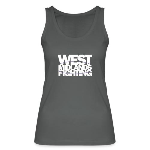 tshirt wmf white 2 - Women's Organic Tank Top by Stanley & Stella