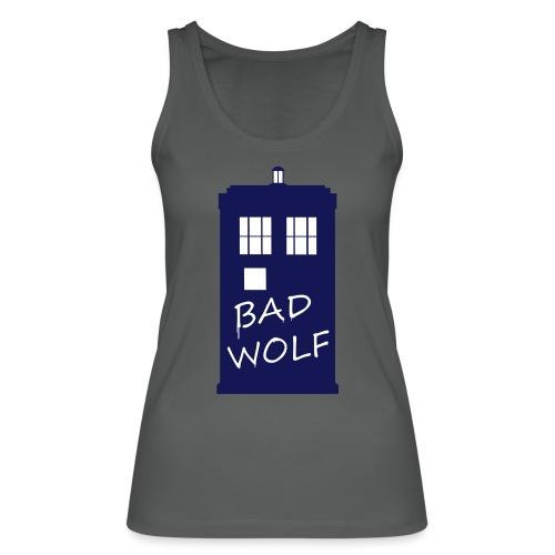 Bad Wolf Tardis - Débardeur bio Femme