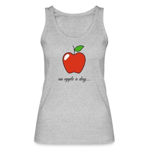 An apple a day ... - Women's Organic Tank Top by Stanley & Stella