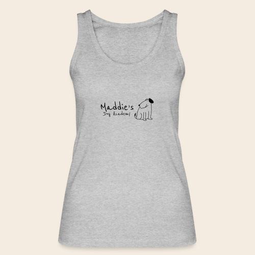 Académie des chiens de Maddie (noir) - Débardeur bio Femme