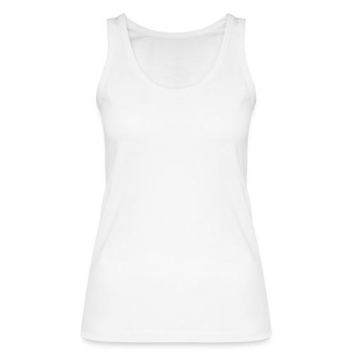 wit logo transparante achtergrond - Vrouwen bio tanktop van Stanley & Stella
