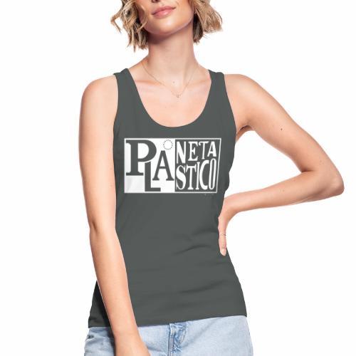 Planeta Plastico - Camiseta de tirantes ecológica mujer de Stanley & Stella