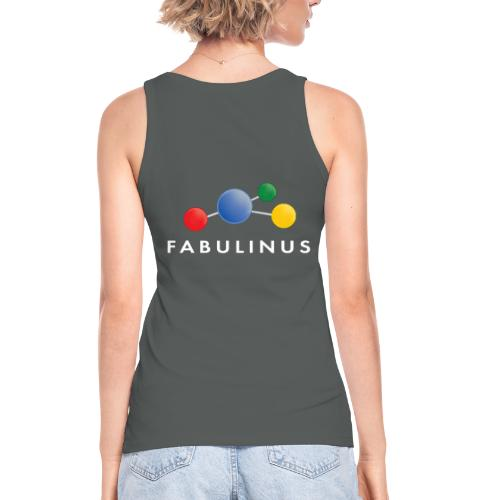 Fabulinus logo enkelzijdig - Vrouwen bio tanktop van Stanley & Stella